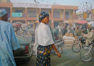 FigureStreetInKano